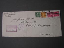 USA 1923 Cv, - Briefe U. Dokumente