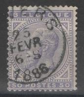Belgique - YT 41 Oblitéré - 1883 Leopold II