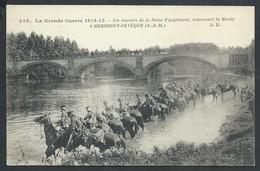 +++ CPA - Militaria - Guerre 1914-15 - Les Lanciers De La Reine Angleterre...GERMIGNY L'EVEQUE  - Marne  // - War 1914-18