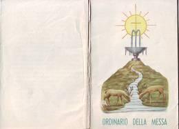 50)libretto Religioso Ordinario Della Messa - Religion