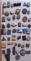 Croatia Bosnia Yugoslavia Slovenia 50 Different Pins  LOT 11 - Badges