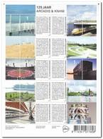 Nederland 2013, Postfris MNH, NVPH 3016-3025, 125 Years Arcadis/Heidemij, Trains, Ship, Bridge, Lighthouses - Periode 2013-... (Willem-Alexander)