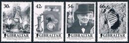 """Gibraltar - Bicentenaire Du """"Gibraltar Chronicle"""" (année 2001) 973/976 ** - Gibraltar"""