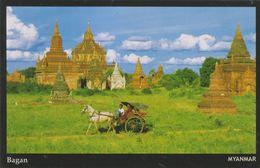 Myanmar 2018 Landscape/Views Postcard — Baban (beautiful Stamp And Special Postmark At Back) - Myanmar (Burma)