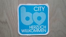 Aufkleber Aus Bochum - Mit Einer Werbeaktion Für Die Stadt - Aufkleber