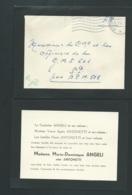F.F.O En Allemagne F.P. Et Remerciement Suite Décès De MME Marie Dominique Angeli Née Antonetti En 1952- Raa0311 - Esquela