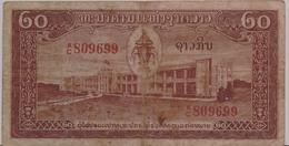 LAOS  P. 4a 20 K 1957  F - Laos
