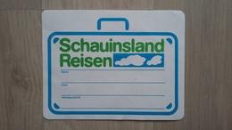 Koffer-Aufkleber Eines Reiseanbieters (Schauinsland Reisen) Aus Deutschland - Aufkleber