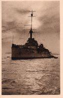 BATEAU CUIRASSE EN RADE DE BREST.  Carte En Achat Immédiat - Warships