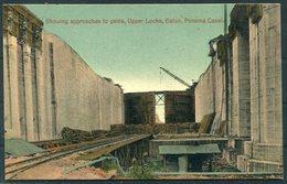 Panama Canal Postcard. - Peru