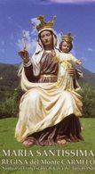 Cava De' Tirreni SA - Santino Grande MARIA SANTISSIMA Regina Del Monte Carmelo - PERFETTO P84 - Religione & Esoterismo