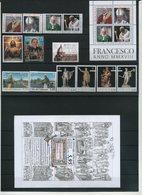 2018 Vaticano. Annata Completa 28 Val. + 4 Foglietti + 1 Libretto Tutti Nuovi (**) - Vaticano