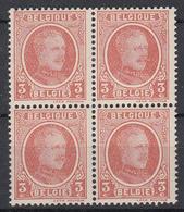 BELGIË - OBP -  1922 - Nr 192  Wazige Druk (Blok/Bloc 4) - MNH** - 1922-1927 Houyoux