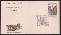 Uruguay - 1970 -  FDC - Colonia Del Sacramento 1680 - Uruguay