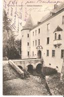 CP. CHATEAU De SANEM TP.5 Cent Obl. BASCHARAGE Du 3/12/1912 V/Belgique Ed.E.J.Mackl Differdange - Ansichtskarten