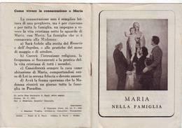 54)libretto Religioso Maria Nella Famiglia - Religion