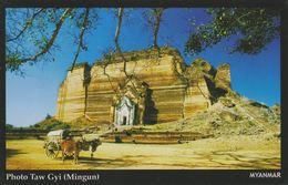 Myanmar 2018 Landscape/Views Postcard — Photo Taw Gyi (beautiful Stamp And Special Postmark At Back) - Myanmar (Burma)