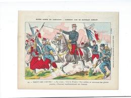 HAUT LES COEURS Notre Armée En Campagne Protège-cahier Couverture 220 X 175  Bon état 3 Scans - Protège-cahiers