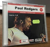 Paul Rodgers  -  Mp3 Collection 10 Albums Double Cd - Rock