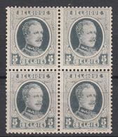 BELGIË - OBP -  1922 - Nr 193  Vluchtige Druk (Blok/Bloc 4) - MNH** + MH* - 1922-1927 Houyoux