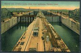 Panama Canal Postcard. - Panama
