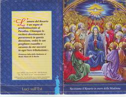 56)libretto Religioso Recitiamo Il Rosario In Onore Della Madonna - Religion