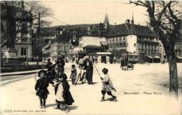 Neuchatel - Place Pury - NE Neuchâtel