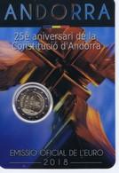 Andorra - 2 Euro Commemorativo 2018 In Confezione Originale - Costituzione - Andorra