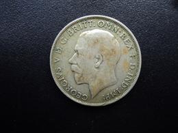 ROYAUME UNI : 1 FLORIN   1922   KM 817a    TB+ - 1902-1971 : Monnaies Post-Victoriennes