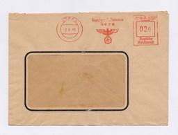 Firmen Umschlag AFS - GERA, Handwerkskammer Gera 2.9.1940 - Deutschland
