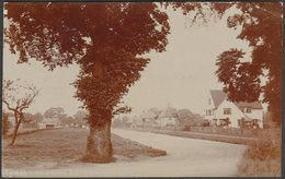 The Broadway, Letchworth, Hertfordshire, 1910 - RP Postcard - Hertfordshire