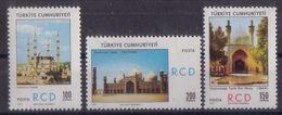 AC - TURKEY - REGIONAL COOPERATION FOR DEVELOPMENT - RCD BETWEEN TURKEY - IRAN AND PAKISTAN MNH  21 JULY 1971 - 1921-... Republic