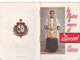 58)libretto Religioso La Messa In Onore Di S.giovanni Bosco - Religion