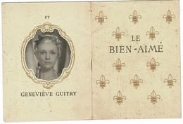 """Théâtre De LA MADELEINE Saison 1940-41"""" LE BIEN-AIME Avec Sacha GUITRY Et Elvire PIPESCO - Programmes"""