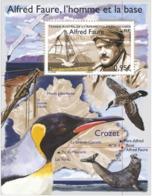 2018 FSAT TAAF Bloc Crozet Alfred Faure Telepherique Bird Seagull Seal - Neuf / MNH - Blocs-feuillets