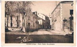 09 BETCHAT  POSTE  MAIRIE  RUE PRINCIPALE  TBE    AR645 - France