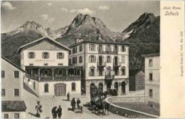 Schuls - Hotel Krone - GR Grisons