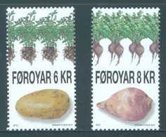 FEROE -  MNH/*** LUXE - 2010 - AGRI PRODUCTS - Yv  704-705 -  Lot 18332 - Féroé (Iles)