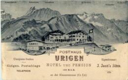 Posthaus Urigen - Klausenstrasse - UR Uri
