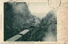 Cylon - Colombo Kandy Train - Zug - Sri Lanka (Ceylon)
