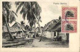 Guatemala, C.A., PUERTO BARRIOS, Partial View (1906) Postcard - Guatemala