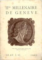 Geneve - IIme Millenaire 1942 - GE Genf
