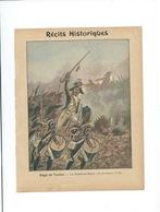 Le Tambour Major Récits Historiques Siège De Toulon (1793) Protège-cahier Couverture 220 X 175  Bon état 3 Scans RR - Protège-cahiers