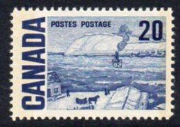 Canada QEII 1967-73 Definitives 20c Quebec Ferry, 2 Phosphor Bands, MNH, SG 587p - 1952-.... Reign Of Elizabeth II