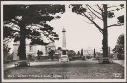 Victoria & Albert Garden, Saltash, Cornwall, C.1955 - Frith's RP Postcard - England