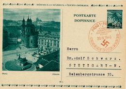PRAG - 20.IV.40 - Führers Geburtstag , BPK Prag - Briefe U. Dokumente