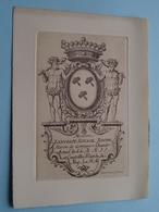 LANCELOT, IGNACE, JOSEPH Baron De GOTTIGNIES 1705 (?) > 1787 ( Berterham F. Brux. / Zie Foto's ) ! - Prenten & Gravure