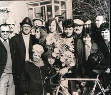 ZARREN   FOTO 1973  9 X 9  CM   -  WIELRENNEN - Kortemark