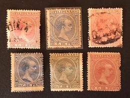 PHILIPPINES 1890 Alphonse XIII - Philippines