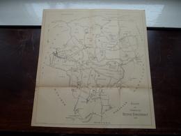 Kaart Der Gemeente DEURNE - BORGERHOUT ( ) Oude 2de Hands Kaart 1820 ( Afkomstig Uit Boek (?) ! - Cartes
